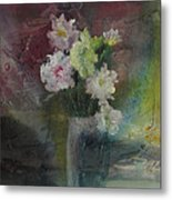Mystical Flowers Metal Print