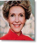 Nancy Reagan, 40th First Lady Metal Print by Photo Researchers