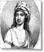Nancy Storace (1765-1817) Metal Print