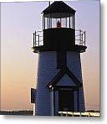 Nantucket Brant Point Lighthouse Metal Print