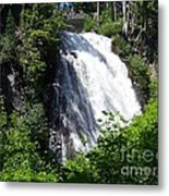 Narada Falls Through The Trees Metal Print