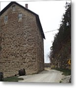 Narrow Dirt Road Metal Print