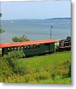 Narrow Gauge Railroad Portland Maine Metal Print