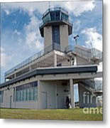 Nasa Air Traffic Control Tower Metal Print by Nasa
