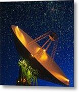 Nasa Deep Space Tracking Station, Australia Metal Print