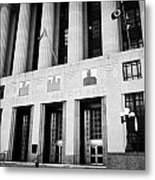 Nashville City Hall Davidson County Public Building And Court House Tennessee Usa Metal Print by Joe Fox