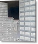 Nashville Inverted  Metal Print