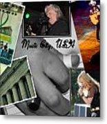 Nashville Postcard Metal Print