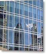 Nashville Reflections Metal Print