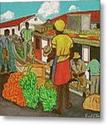 Nassau Fruit Boat Metal Print
