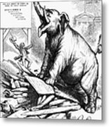 Nast: Tweed Cartoon, 1875 Metal Print
