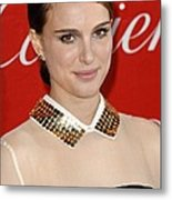 Natalie Portman At Arrivals For 22nd Metal Print