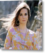 Natalie Wood, Wearing A Pucci Design C Metal Print