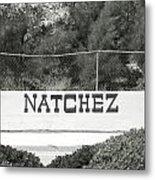 Natchez Metal Print