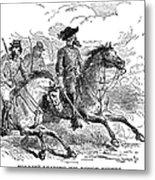 Nathan Bedford Forrest (1821-1877) Metal Print