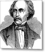 Nathaniel Hawhtorne Metal Print