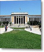 National Archeological Museum Metal Print