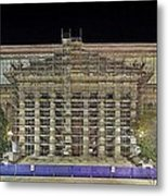 National Archives Building Renovation Metal Print