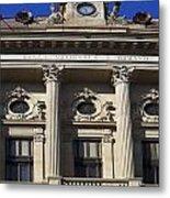 National Bank Of Romania Metal Print