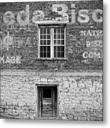 National Biscuit Company Metal Print