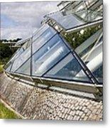 National Botanic Garden Wales Glasshouse Metal Print
