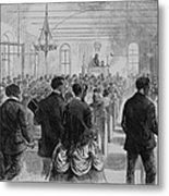 National Convention Of The Colored Men Metal Print by Everett