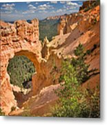 Natural Bridge In Bryce Canyon National Park Metal Print