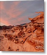 Natures Artistry At Little Finland Metal Print