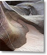 Nature's Artistry In Stone Metal Print