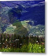 Nature's Child Metal Print