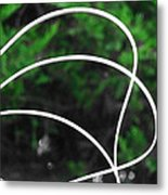 Nature's Natural Curves Metal Print