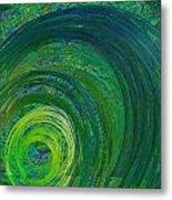 Natures Storm Metal Print