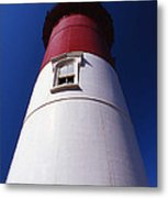 Nauset Beach Lighthouse Metal Print by Skip Willits