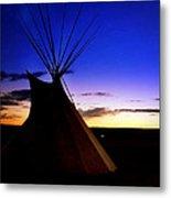 Navajo Night Metal Print
