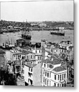 Naval Arsenal And The Golden Horn - Ottoman Empire - Turkey Metal Print
