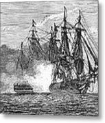 Naval Battle, 1813 Metal Print