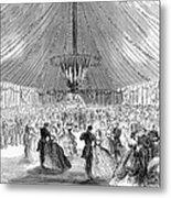 Naval Festival, 1865 Metal Print