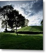 Navan Fort, Co Armagh, Ireland Metal Print by The Irish Image Collection