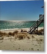 Navarre Beach Metal Print