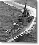 Navy: Uss Bainbridge, 1968 Metal Print