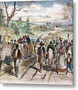 Nc: Freed Slaves, 1863 Metal Print