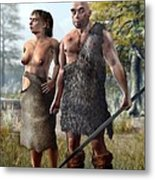 Neanderthals, Artwork Metal Print