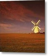Near Newtownards, Co Down, Ireland Metal Print
