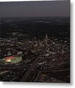Nebraska Memorial Stadium And Campus Metal Print by PRANGE Aerial Photography