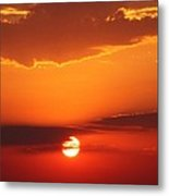 Nebraska Sunrise Metal Print