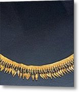 Spear-heads Necklace  Metal Print