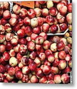 Nectarines And Pluots - 5d17905 Metal Print by Wingsdomain Art and Photography