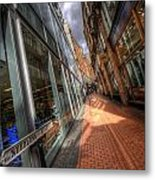 Needless Alley Metal Print