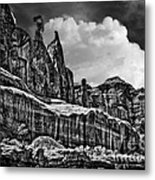 Nefertiti Arches National Park Metal Print