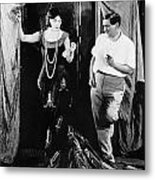 Negri And Lubitsch Metal Print